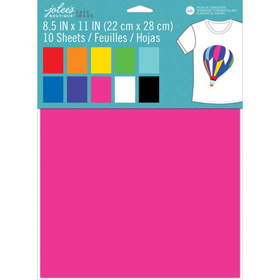 8.5X11 Value Pack Transfer, Easy Image - Rainbow