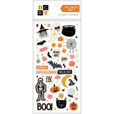Stickers, Fall - Halloween Party