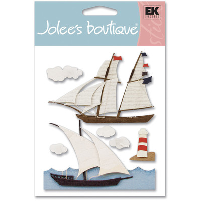 Dimensional Stickers, Nautical Travel