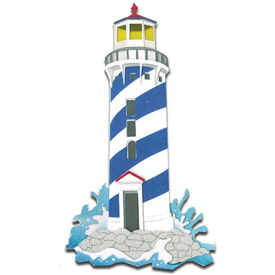 Dimensional Stickers, Lighthouse