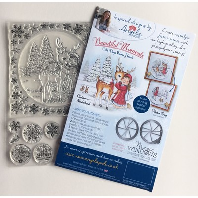 Clear Stamp, Cold Days Warm Hearts - Christmas Wonderland