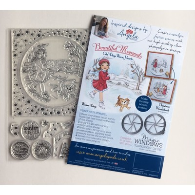Clear Stamp, Cold Days Warm Hearts - Winter Days