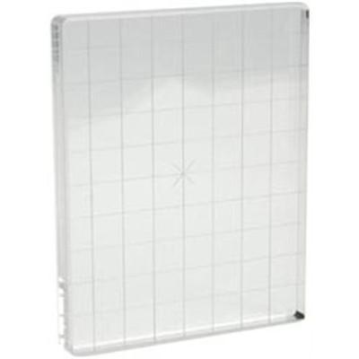 "Acrylic Block - 4"" X 5"" W/Grid"