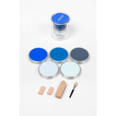 PanPastel Set, Blues (5 Colors)