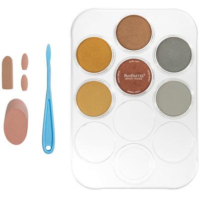 PanPastel Kit, Metallics w/Sofft Tools (6 Colors)