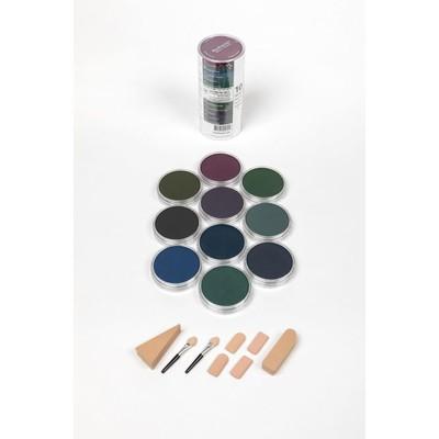 PanPastel Set, Extra Dark Shades Cool (10 Colors)