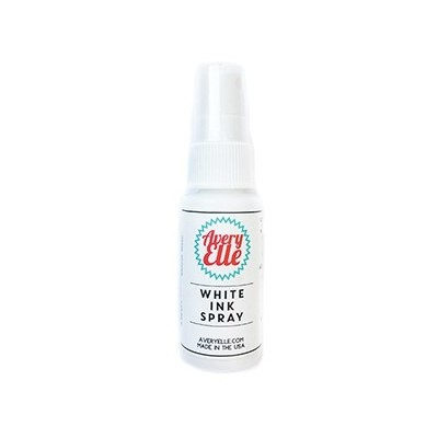 Ink Spray, White