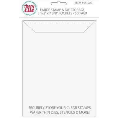 Stamp & Die Storage Pockets, Large