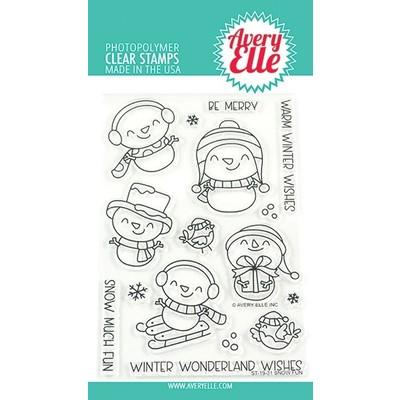 Clear Stamp, Snow Fun
