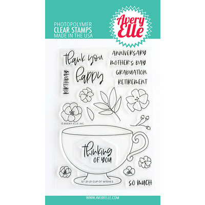 Clear Stamp, Cup Of Wishes