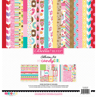 12X12 Collection Kit, My Candy Girl