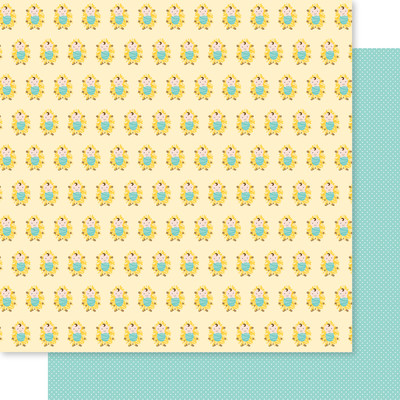 12X12 Patterned Cardstock, Let Us Adore Him - Prince of Peace
