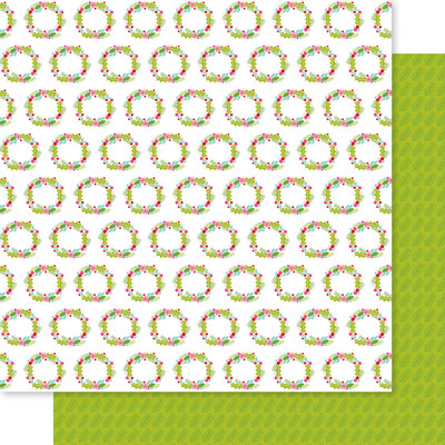 12X12 Patterned Cardstock, Let Us Adore Him - Peace on Earth