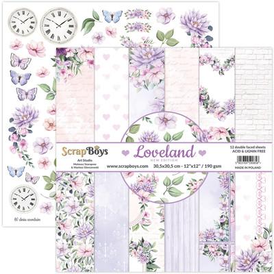 12X12 Paper Pad, Loveland *New Edition*