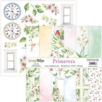 8X8 Paper Pad, Primavera