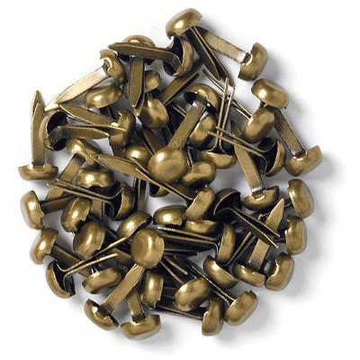 Mini Brads, Antique Brass