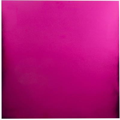 12X12 Foil Cardstock, Hot Pink