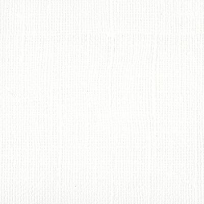 12X12 Mono Cardstock, Bazzill White (Canvas)
