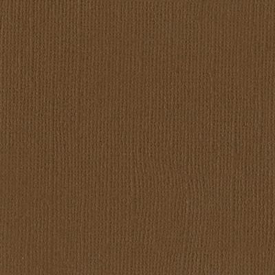 12X12 Mono Cardstock, Walnut (Canvas)