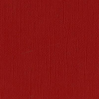 12X12 Mono Cardstock, Maraschino (Canvas)