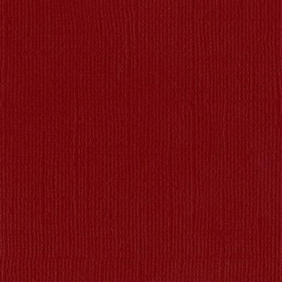12X12 Mono Cardstock, Pomegranate (Canvas)