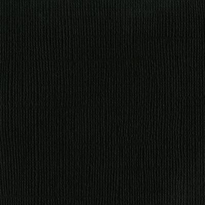 12X12 Mono Cardstock, Raven (Canvas)