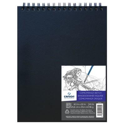 "Comic & Manga Sketch Art Book, 8.5"" x 10"""