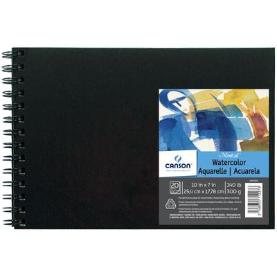 "Montval Field Watercolor Art Book, 10"" x 7"""
