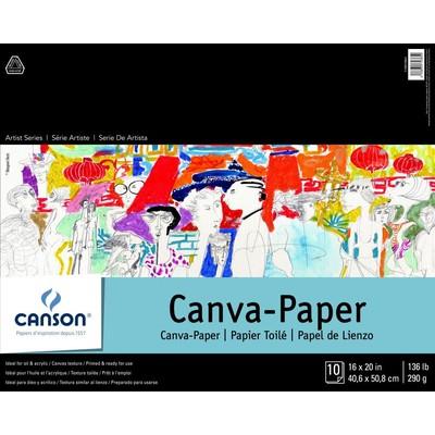 "Canvas Paper Pad, 16"" x 20"""