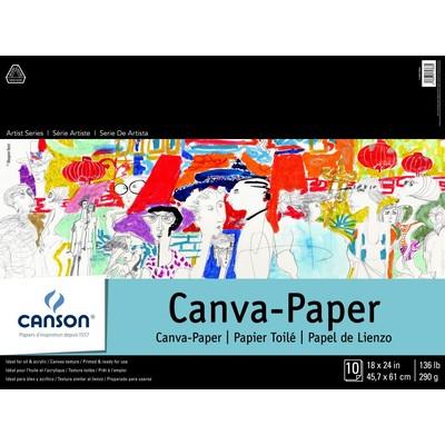 "Canvas Paper Pad, 18"" x 24"""