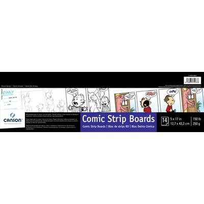 """Comic & Manga Comic Strip Boards, 5"""" x 17"""""""