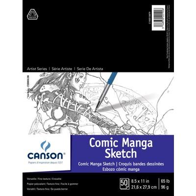 "Comic & Manga Sketch Paper Pad, 8.5"" x 11"""
