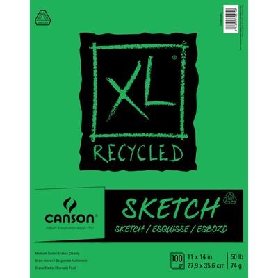 "XL Recycled Sketch Pad, 11"" x 14"""
