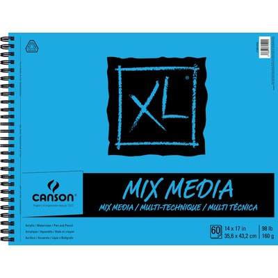 """XL Mix Media Pad, 14"""" x 17"""""""