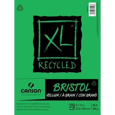 "XL Recycled Bristol Pad, 9"" x 12"""