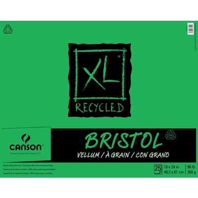 "XL Recycled Bristol Pad, 19"" x 24"""