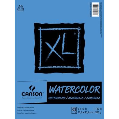 "XL Watercolor Pad, 9"" x 12"""