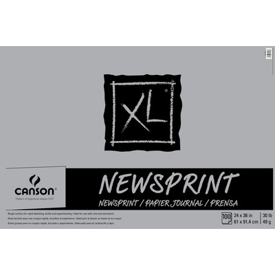 "XL Newsprint Pad, 24"" x 36"""