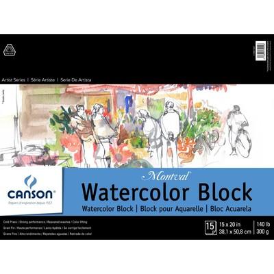 """Montval Watercolor Paper Block, 15"""" x 20"""""""