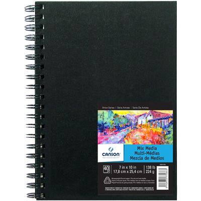 """Mix Media Art Book, 7"""" x 10"""""""