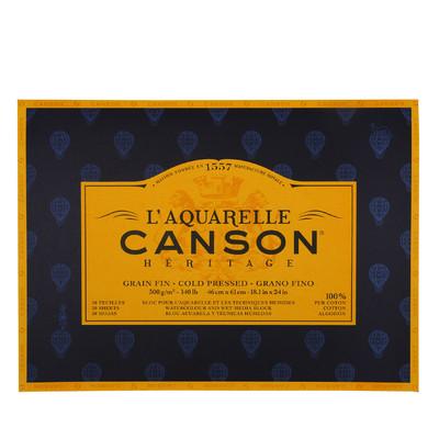 """Heritage L'Aquarelle Paper Block, Cold Pressed - 18.1"""" x 24"""""""