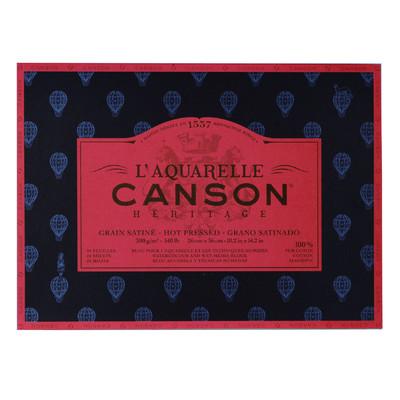 """Heritage L'Aquarelle Paper Block, Hot Pressed - 10.2"""" x 14.2"""""""