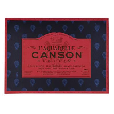 """Heritage L'Aquarelle Paper Block, Hot Pressed - 14.2"""" x 20.1"""""""