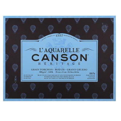 "Heritage L'Aquarelle Paper Block, Rough - 12.2"" x 16.1"""