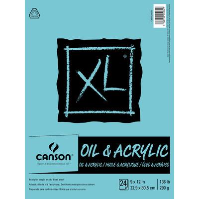 """XL Oil & Acrylic Pad, 9"""" x 12"""""""