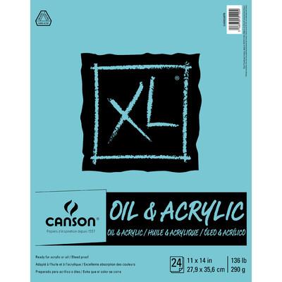 """XL Oil & Acrylic Pad, 11"""" x 14"""""""