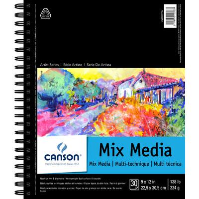 """Mix Media Paper Pad, 9"""" x 12"""""""