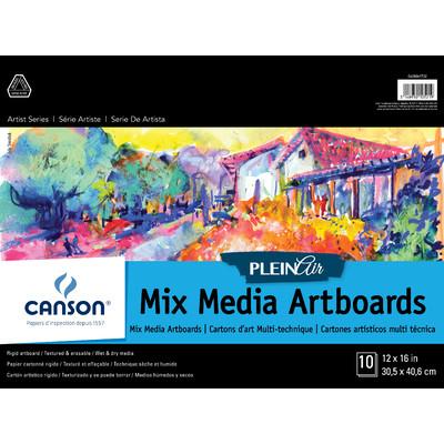 """Plein Air Mix Media Art Board Pad, 12"""" x 16"""""""