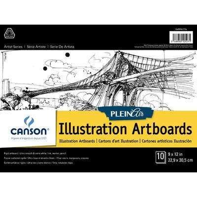 """Plein Air Illustration Art Board Pad, 9"""" x 12"""""""
