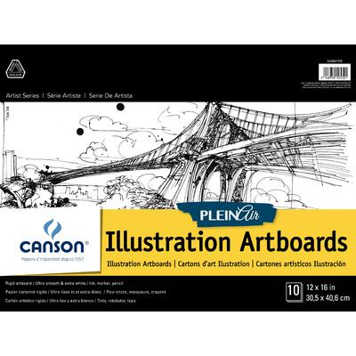 """Plein Air Illustration Art Board Pad, 12"""" x 16"""""""